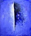 Blue moment 136x122 cm
