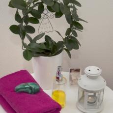 Mysig miljö för massage