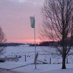 Solen går upp 5 februari.