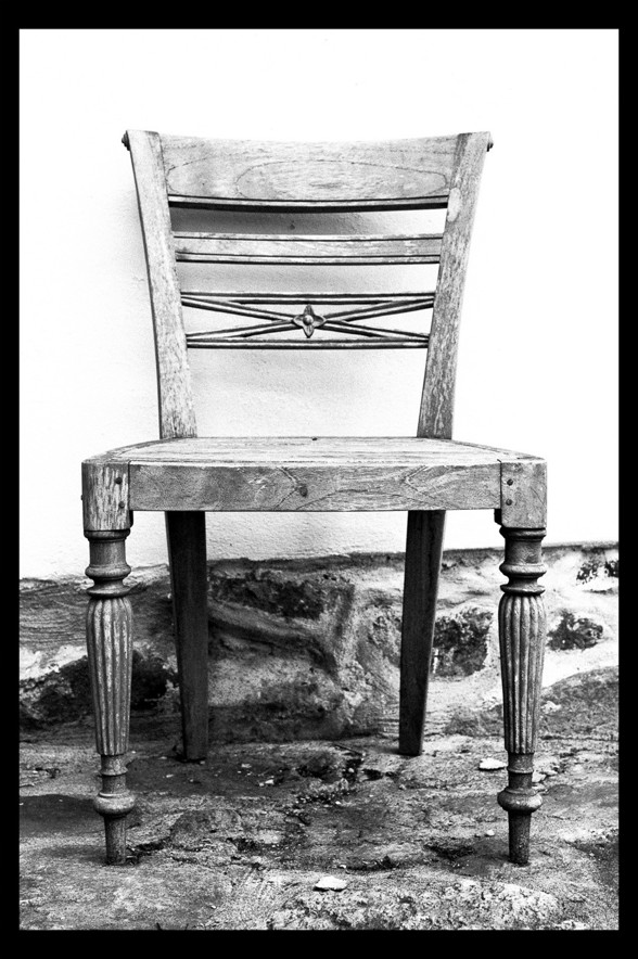 Stol, av Rebecca Wallin