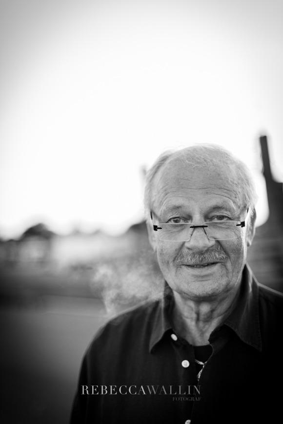 Karl-Olof Ekström, Skillinge. Fotograf Rebecca Wallin