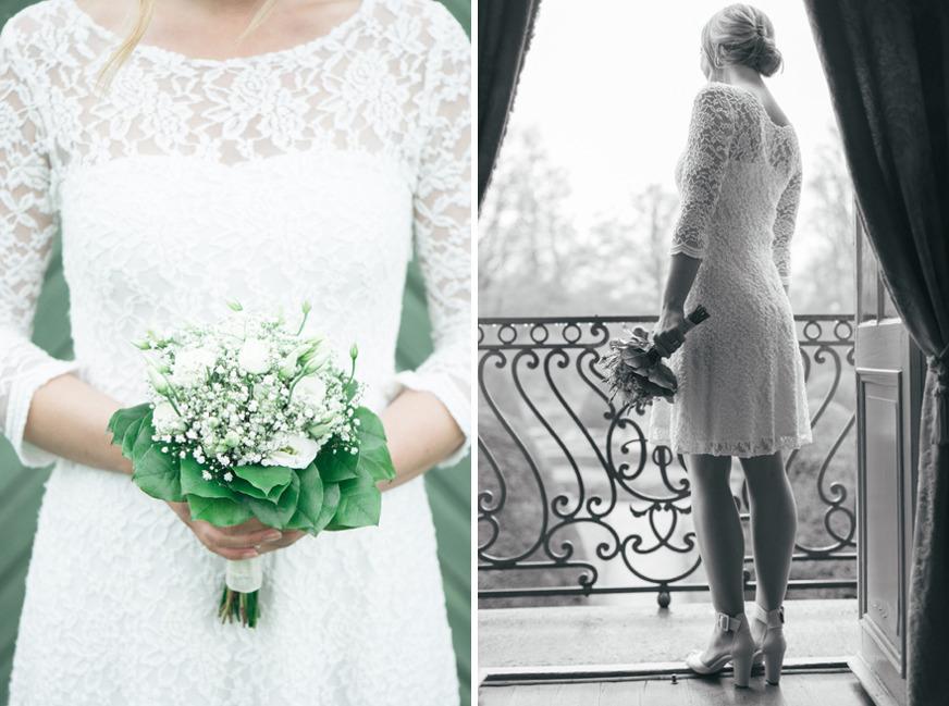 Vårbröllop på Kronovalls vinslott, Österlen. Fotograf Rebecca Wallin
