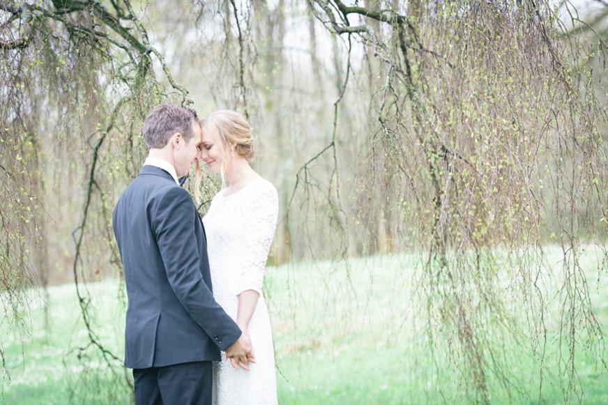 Vårbröllop på Österlen. Fotograf Rebecca Wallin