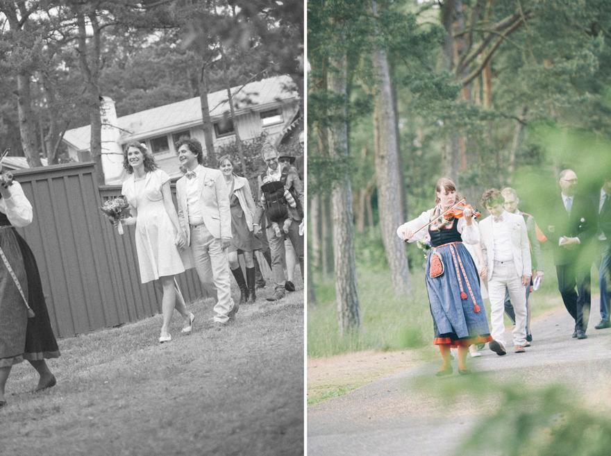 Midsommarbröllop på Österlen