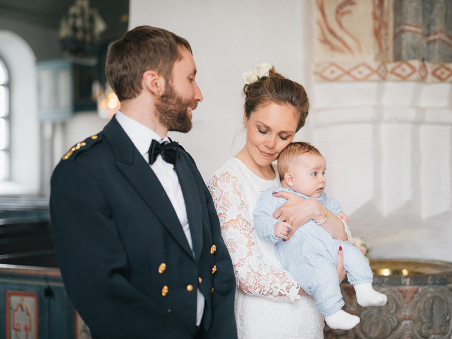 Bröllop i Vitaby kyrka, Rebecca Wallin.
