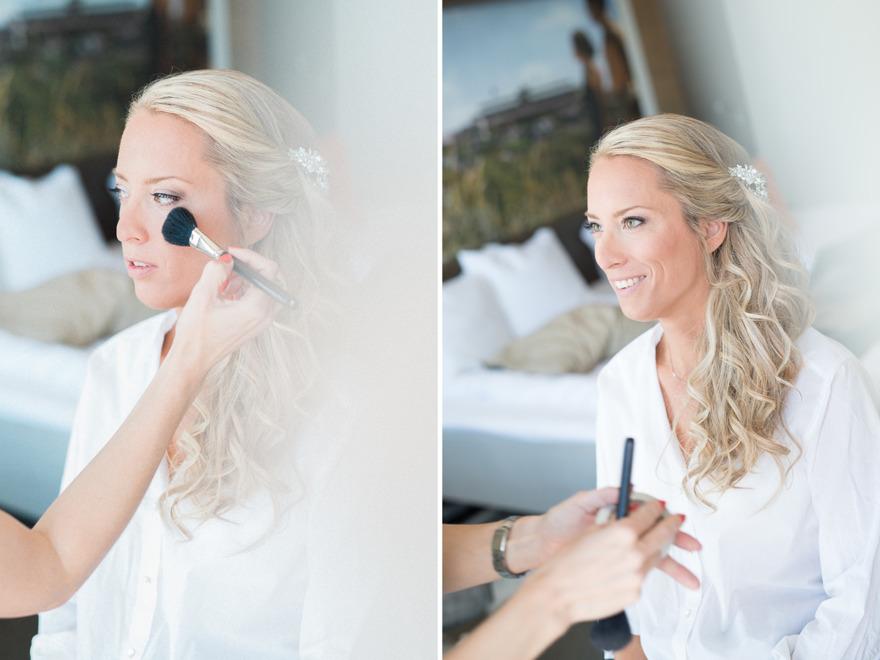 Bröllopsförberedelser på Tylösand. Rebecca Wallin 2016