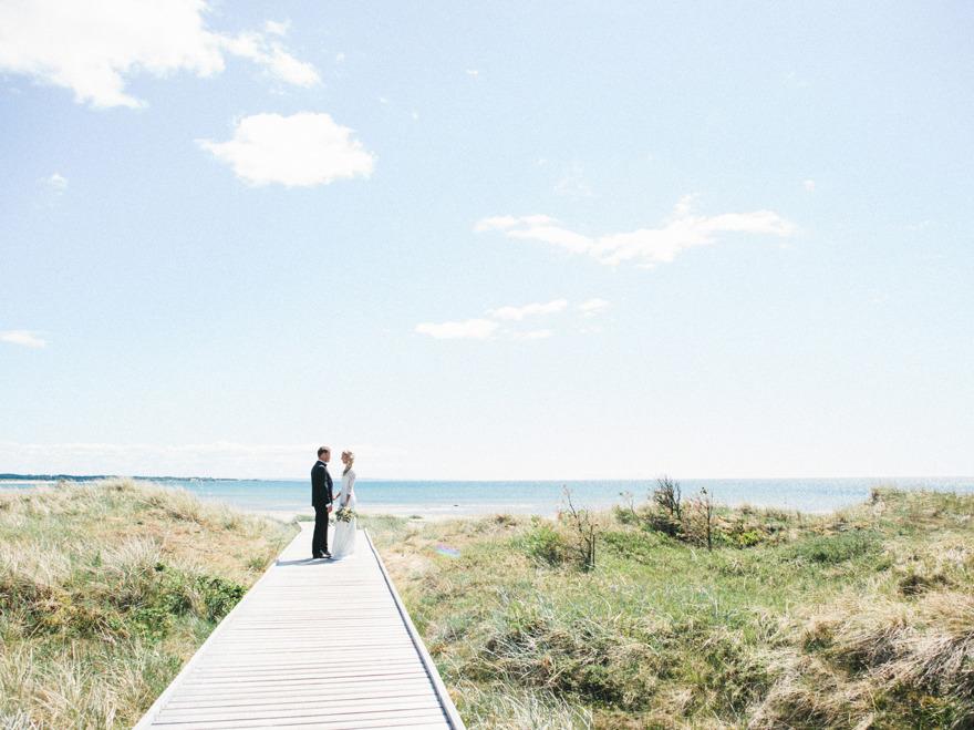 Bröllopsfotograf vid Haverdal, Halmstad