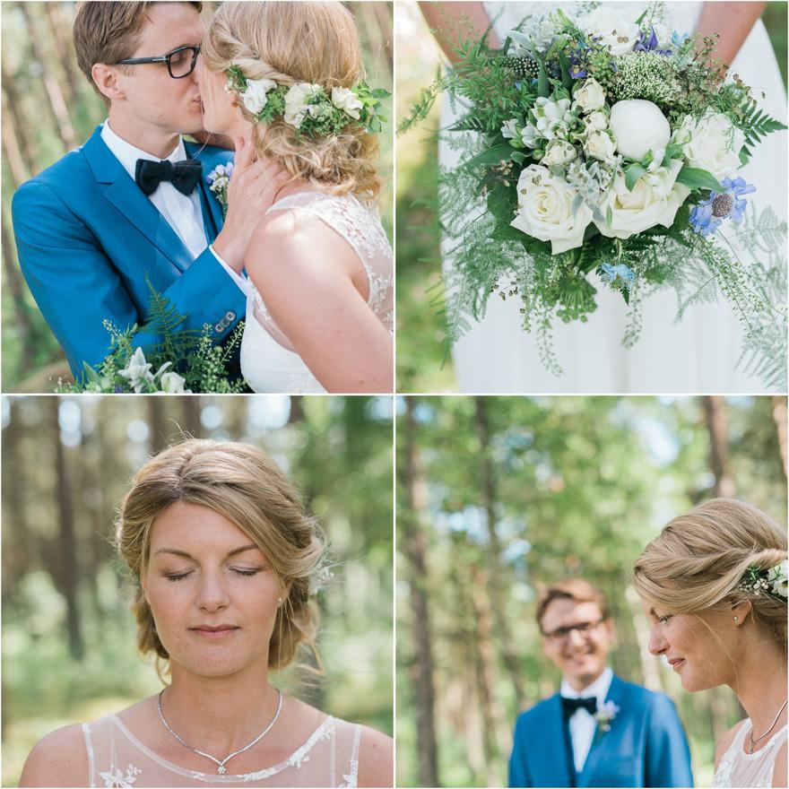 Bröllopsfotograf Rebecca Wallin, Österlen