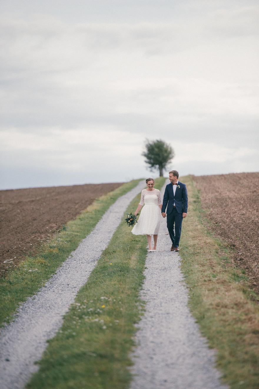 Bröllop på  Österlen. Bröllopsfotograf Rebecca Wallin