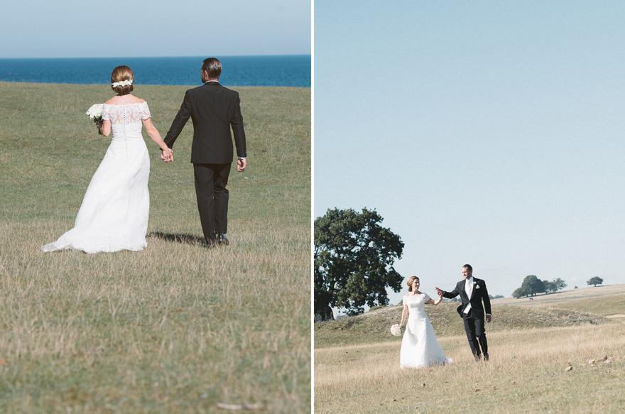 Bröllop på Haväng, Österlen. Fotograf Rebecca Wallin