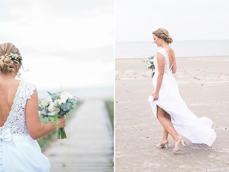 The first look! Weddingphotographer Rebecca Wallin
