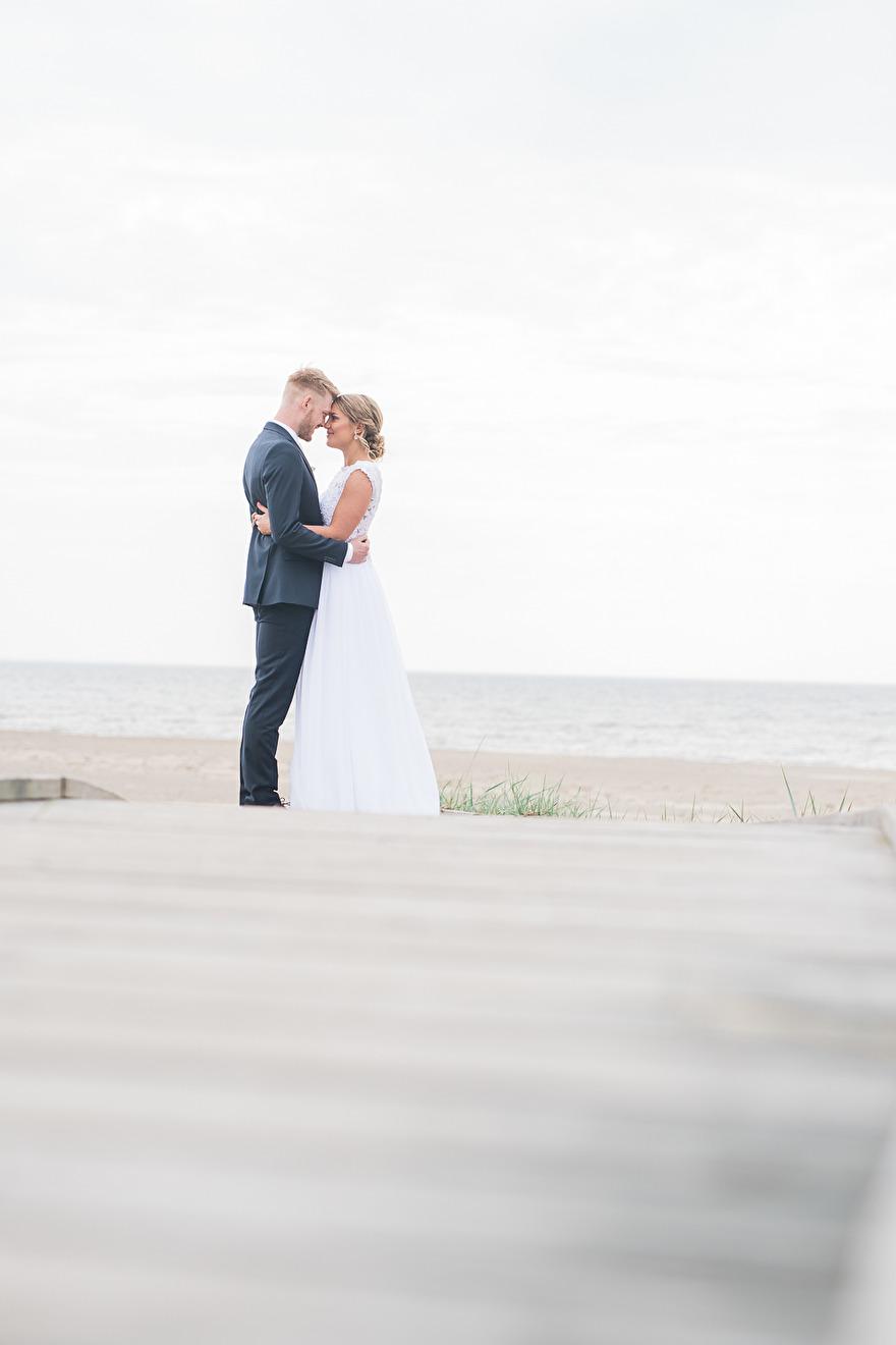 Weddingphotografer Rebecca Wallin, Österlen