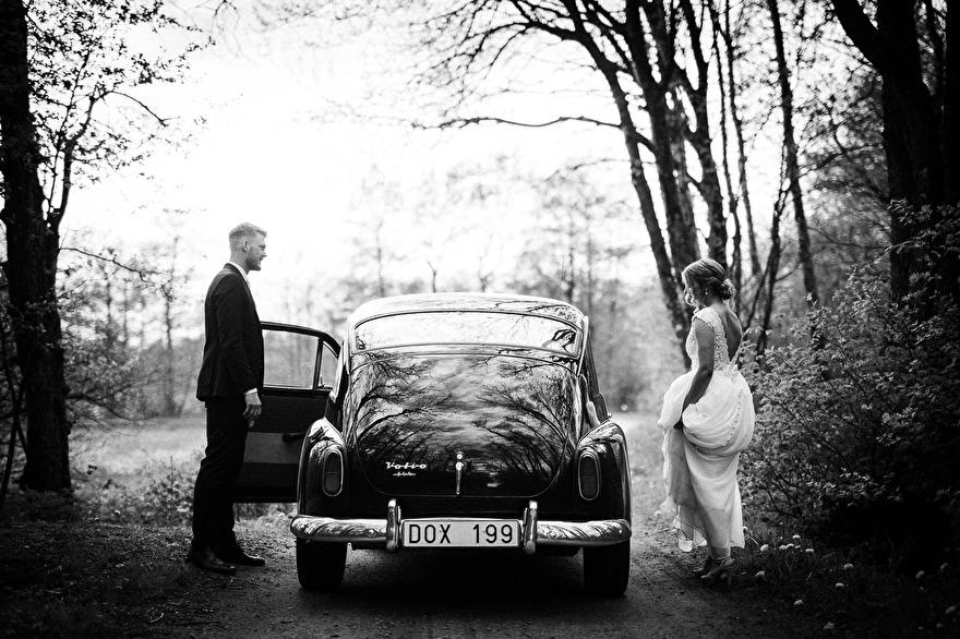 Weddingportrait by Rebecca Wallin