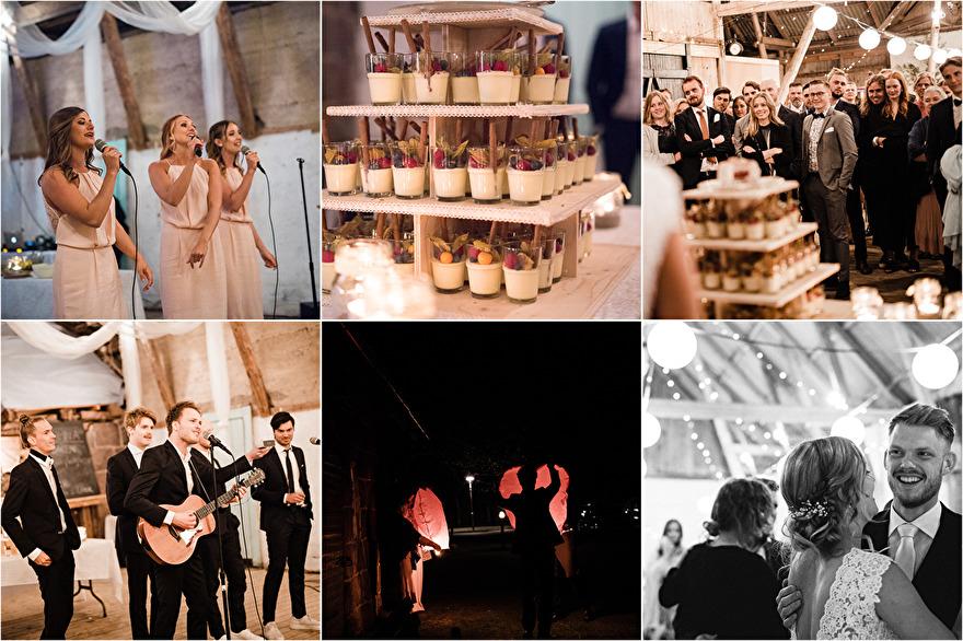 Bröllop på Annies gård, Halmstad. Rebecca Wallin