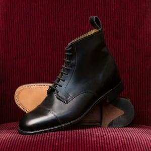 Derby Boot Black Calf MTO