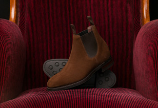 Chatterley Brown Suede