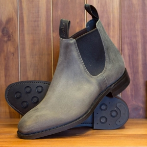 Chatterley Grey Suede