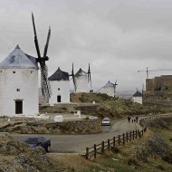 The windmills and knights castle