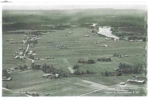 Flygfoto över Opsaheden