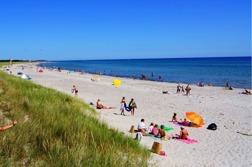 Bild: Grenå strand