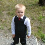 Svart kostym för barn, 1-11 år