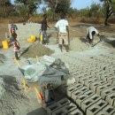 Block making in proigress
