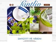 Lantliv - webbsida