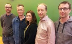 Nya styrelsen: Andreas Ljungström, Øyvind Eriksen, Helen Eriksson, Peter Norberg och Ulf Kristofersson. Saknas gör Jonas Strandberg och Sebastian Åhsén.
