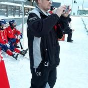 Ola Eriksson med kameran som så ofta