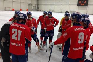 SSK kvitterade med ett mål efter en sen timeout. Foto: Rönnken