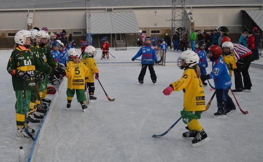 Gemenskap över åldersgränserna i Ljusdal. Foto: Maria Dahlin