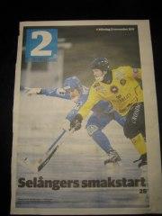 Norgren uppvaktar KBK:s Tommy Andersson