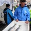 Sverker med fisk