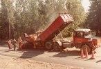 Beläggningsarbete på 70 talet