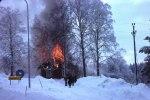 Backalund brinner i början på 1977