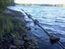 Lågt vatten Lillbjörken 2013-09-23 14.39.23