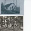 Övre Kapellet i ursprungsskick ca 1900 Nedre bild från 50tal