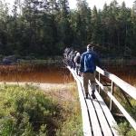 Början på Spångbron
