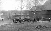 Taget vid övrekolhuset med mässingsorkester  ca 1929