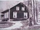 Svartå gamla skola tidigt 1900 tal
