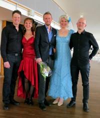 Joachim Bäckström, Suzanne Flink, Jonas Samuelsson, Ellika Ström Meijling och MaxLörstad