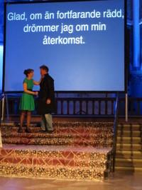 Suzanne Flink och Johan Palmqvist