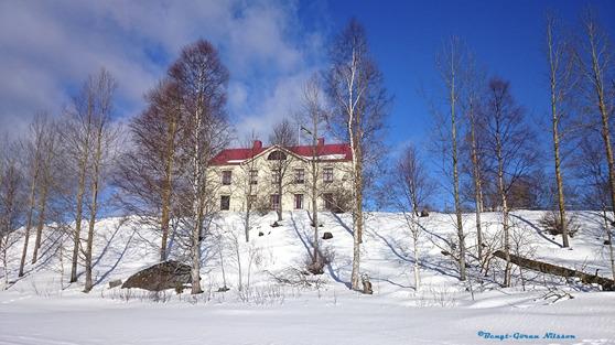 Björnäs herrgård i mars 2016