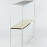 Sideboard, Berghammar - Vitt underrede, vit marmor + mässing