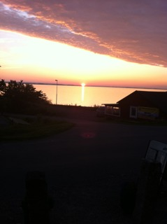To be able to enjoy the sunset on the westcoast of Sweden is often magical.