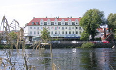 Accommodation in another top class hotel in Falkenberg with view of river Ätran and its famous salmon fishing, day 3.