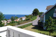 Most of your overnight stays are close to the sea. Here another top class hotel, situated in a small village, with a wonderful view of ocean Kattegatt, day 1.
