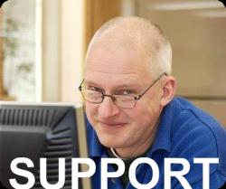 Ring vår support på Ljungbergs tryckeri