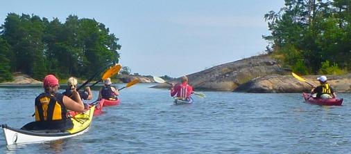 kayak paradise