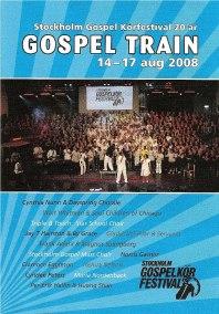 DVD 2008 - Gospel Train - 2008 - Gospel Train DVD